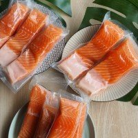 Daging ikan Salmon frozen 200gr