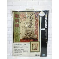 Paket Kristik Original Dimensions 35220 Purity Strength Truth Budha