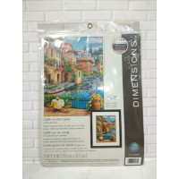 Paket Needlepoint Original Dimensions 71-20080 Cafe On The Canal