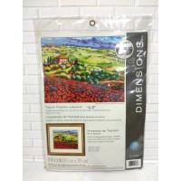 Paket Needlepoint Original Dimensions 71-20084 Tuscan Poppies