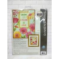 Paket Kristik Original Dimensions 70-35303 Painted Daisy Verse Bunga
