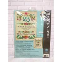 Paket Kristik Original Dimensions 70-73816 Vintage Sampler Anniversary