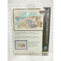Paket Kristik Original Dimensions 35250 Quiet Beach Moments Pantai