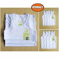 Kaos dalam anak ( isi 6 pcs ) Velvet junior singlet putih