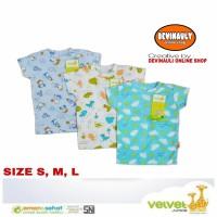 Velvet junior isi 3 pcs Oblong lengan bloon size S, M, L