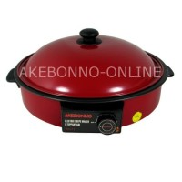 Akebonno Electric Crepe Maker & Teppanyaki Pan