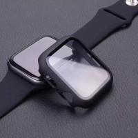 rubber case anti gores apple watch iwo bumper shock proof 44 42 38 40