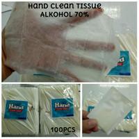 Hand clean tissu alkohol 70% 1pcs