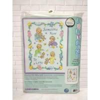 Paket Kristik Original Dimensions 72963 Someone New Baby Quilt Blanket
