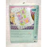 Paket Kristik Original Dimensions 70-73541 Fairy Quilt Baby Blanket