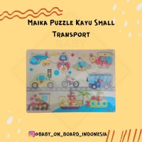 Maika Puzzle Kayu Small Transport