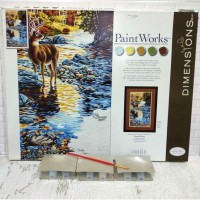 Paket Melukis Paint By Number Dimensions 73-91436 Shallow Crossing