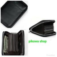 Dompet Kartu Model Kantong Zipper Kokoh // Card Holder Rapi