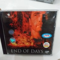 VCD Film Arnold Swarzeneger END OF DAYS