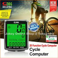 Speedometer Sepeda Wireless Tanpa Kabel Bicycle Sunding SD-579C SD579C