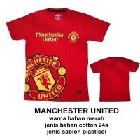 kaos bola Manchester United size xl