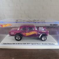 Hot Wheels 55 chevy Bel Air Gasser Dinner Car IDE 6 sign BV hotwheels