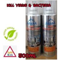 Disinfectant spray ARANA HEALTHY & SAFETY ( 500 ML )