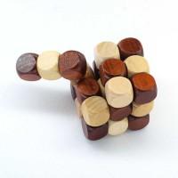 Rubik Kayu Pelatih Otak Bosan di Meja Kerja // Klasik Minimalis