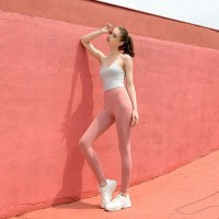 set pakaian yoga dan gym wanita bon teiri