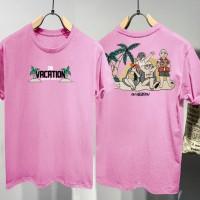 T-shirt ON Vacation / Baju Kaos Distro Pria Wanita Cotton 30s