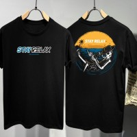 T-shirt Skull Relax / Baju Kaos Distro Pria Wanita Cotton 30s