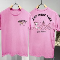 T-shirt Need Time / Baju Kaos Distro Pria Wanita Cotton 30s