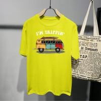 T-shirt im Trippin / Baju Kaos Distro Pria Wanita Cotton 30s