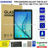 Tempered Glass 2.5D Samsung Galaxy Tab S2 8 inch T710 T715 antigores