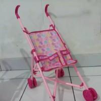 mainan stroller boneka kereta dorongan boneka stoller boneka