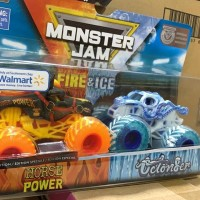 hot Wheels monster jam Horse power octonger Fire and ice Spin Master