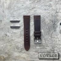 Voyage strap apple watch iwo samsung tali jam kulit asli original 2