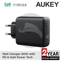 AUKEY PA-D4 CHARGER 60W PD POWER DELIVERY FAST CHARGING MACBOOK PRO