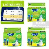 Top Adult Pants Popok Dewasa Celana M10/ L10/ XL10