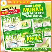 Hand sanitizer antiseptic alcohol antis gel 10 60 ml refill cuci sabun
