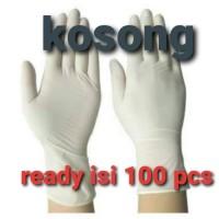 sensi gloves isi 60 sarung tangan lateks merk sensi