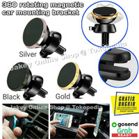 360 Degree Rotating Magnetic Car Air Vent Mount Holder AC Mobil
