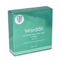 WARDAH EXCLUSIVE TWO WAY CAKE 02 SHEER PINK 12GR