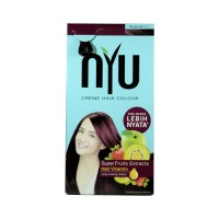 NYU CREAM HAIR COLOUR BURGUNDY NS