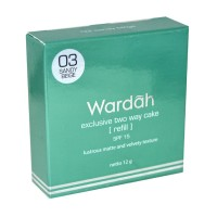 WARDAH EXCLUSIVE TWO WAY CAKE 03 SANDY BEIGE 12GR