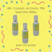 BB+ cleanol Alcohol 70% sanitizer 180ml