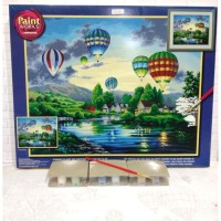 Paket Melukis Paint By Number Dimensions 91243 Balloon Glow