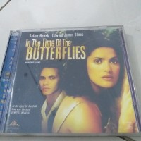 VCD Film Salma Hayek IN THE TIME OF THE BUTTERFLIES