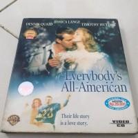 VCD Film DENNIS QUAID EVERYBODY s ALL AMERICAN