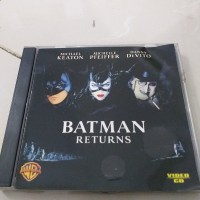 VCD Film Michael Keaton BATMAN RETURN