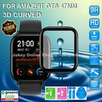 Antigores 3D CURVED Amazfit GTS Screenguard no tempered glass