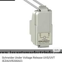 UNDER VOLTAGE RELEASE EZAUVR200AC 200-240V schneider