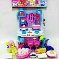 mainan kitchen set murah mainan masakan dapur berdiri