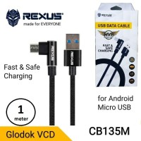 Rexus Kabel micro USB 1m CB135M - USB micro Cable 1 meter