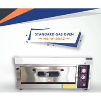 Standart Gas Oven 1 Deck 2 Tray Full Stainless MS YXY 20ASS